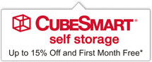 Cubesmart Storage Special Offer