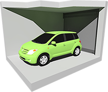 Small Enclosed Car Storage