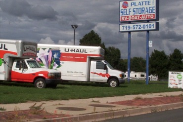 Aaa Platte Self Storage And Uhaul Near 4510 Edison Ave