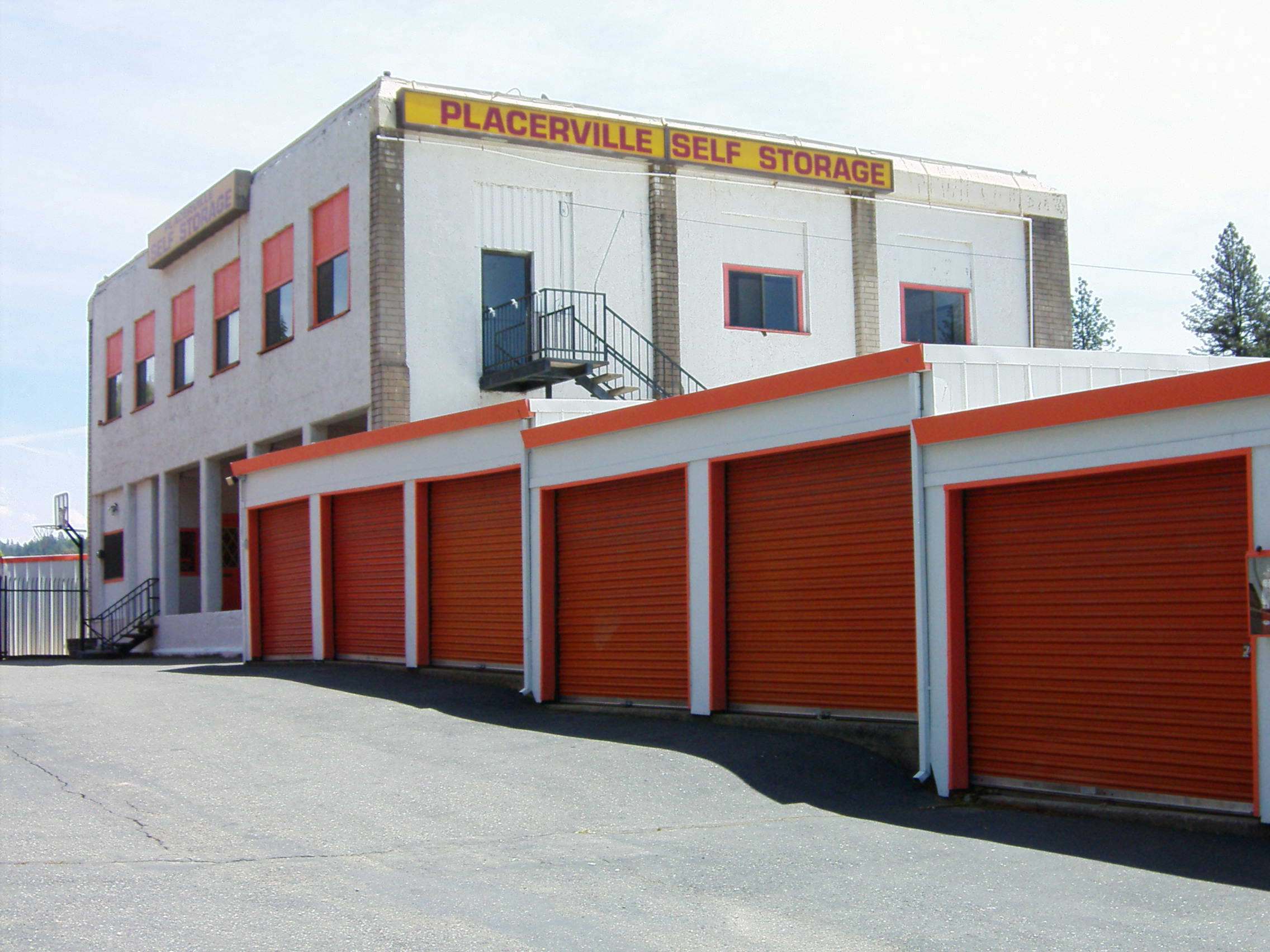 Sentry Storage Placerville Units Self Storage 1066