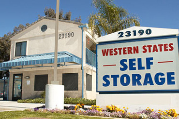 Western States Self Storage - 23190 Hemlock Avenue Moreno Valley, CA 92557