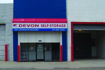 Devon Self Storage - 1100 Oakman Blvd Detroit, MI 48238