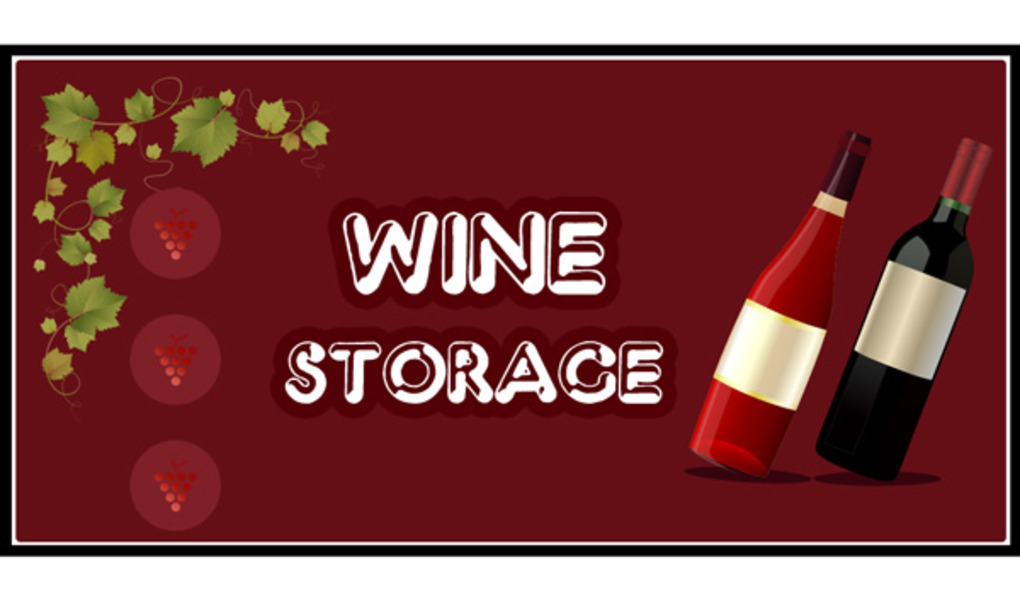 How to Store Your Wine Infographic