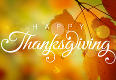Thanksgiving, a Day to Celebrate Our Blessings