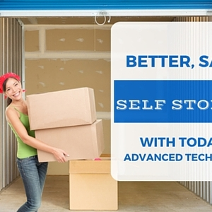 Better, Safer Self Storage with Today's Advanced Technology