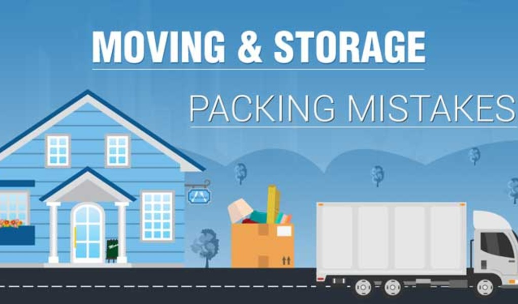 Moving and Storage Packing Mistakes