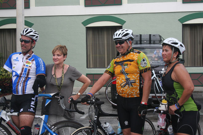 Hector, Gail, Tony and Susan arrives in Clewiston: June 8, 2013