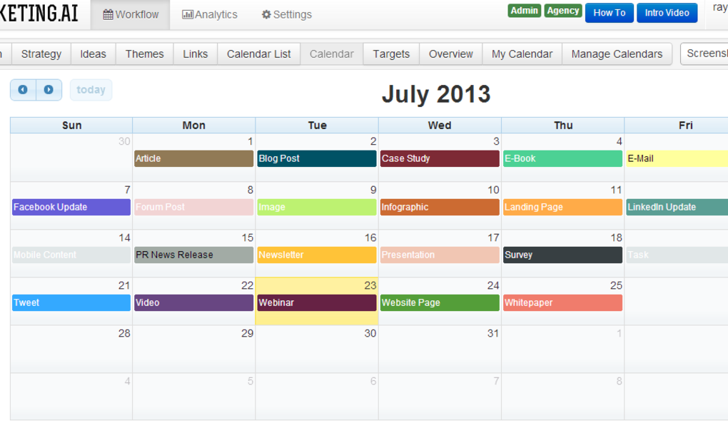 How to Use A Social Media Content Calendar for Self Storage Marketing