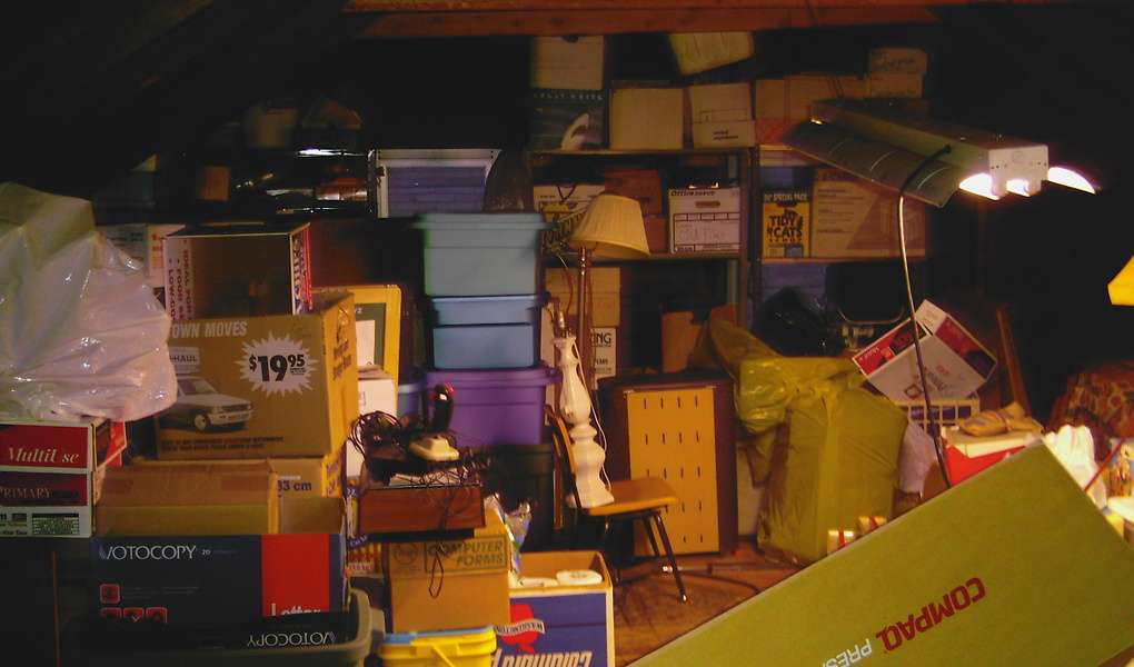 Tips and Tricks To Organize Your Attic