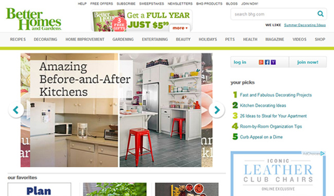 Better Homes And Gardens Magazine On Usselfstoragelocator.com