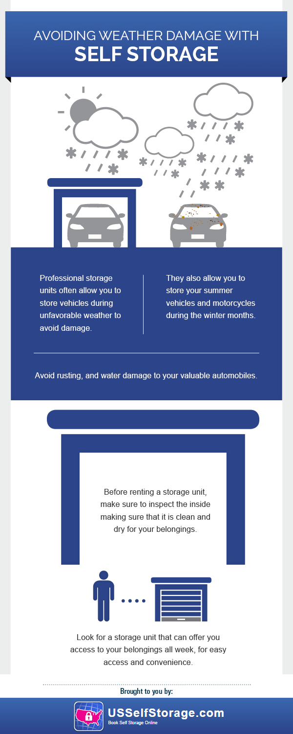 US Self Storage Infographic