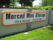 Merced Mini Storage - 1723 W 16th St Merced, CA 95348